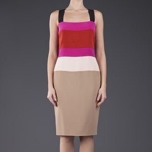 Narciso Rodriguez women 42 sable color dress